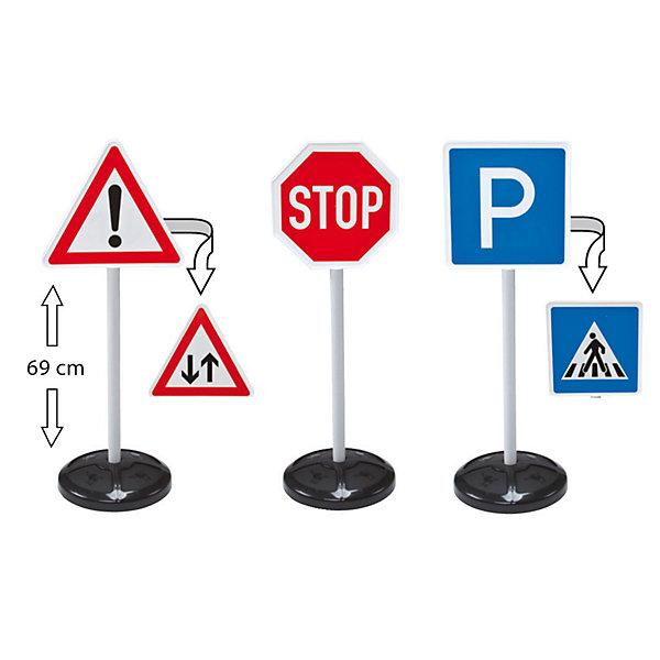 BIG Игровой набор  Дорожные знаки 69 см, 3 шт.