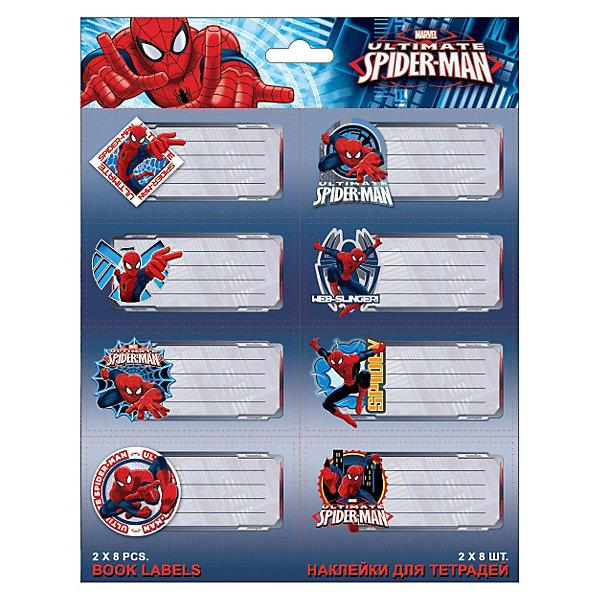 Академия групп Наклейки для тетрадей, Человек-Паук майка классическая printio spider man человек паук