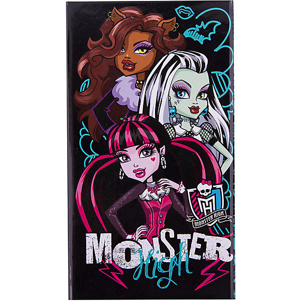 Академия групп Органайзер складной: ноутбук, адресная книга, дневник, Monster High
