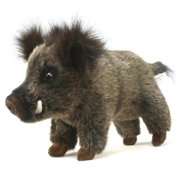 Hansa Мягкая игрушка Лесные животные Кабан, 29 см