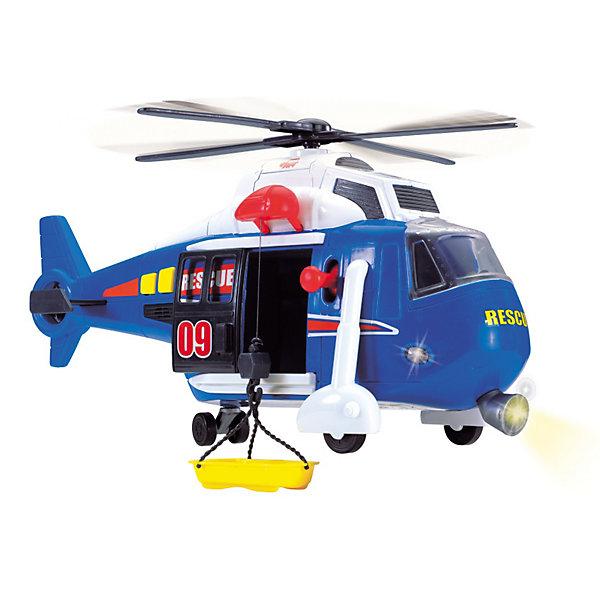 цена на Dickie Toys Вертолет Dickie Toys, 41 см, свет и звук