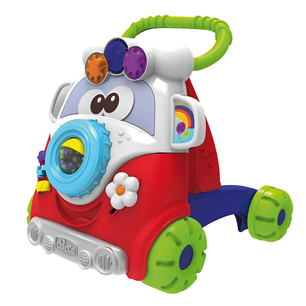 CHICCO Игровой центр-каталка Baby Walker 2 в 1, Chicco игровой подарочный набор chicco baby senses 4 предмета
