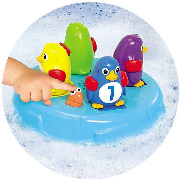 Игрушка для ванной Остров Пингвинов-Прыгунов, TOMYИдеи подарков<br>Игрушка для ванной  Островок Прыгунов Пингвинов от известной японской компании Томи сделает купание Вашего малыша весёлым и увлекательным!  <br>пингвинчику нужно занять платформу своего цвета. Все готовы?  Нажимаем на рыбку и под веселую музыку наши пингвины начинают по порядку  прыгать в воду, 1-й, 2-й, 3-й и 4-й. Можно вместе с малышом  попробовать поймать прыгающих пингвинов. Не получилось? Давайте попробуем снова! <br>Эта увлекательная игрушка подарит Вам и Вашему малышу много радостных минут во время купания! <br>Все игрушки Томи отличает высочайшее японское качество, уровень безопасности и надежность.<br><br>Дополнительная информация:<br><br>В комплекте:  островок с рыбкой и 4 разноцветных пингвина. <br>Работает от 3-х  батареек  ААА ( в комплект не входят)<br>Размеры упаковки: 28 x 28 x 8.5 см.<br><br>Игрушка для ванной Остров Пингвинов-Прыгунов, TOMY (Томи) можно купить в нашем магазине.<br>Ширина мм: 286; Глубина мм: 283; Высота мм: 91; Вес г: 748; Возраст от месяцев: 18; Возраст до месяцев: 36; Пол: Унисекс; Возраст: Детский; SKU: 3590470;