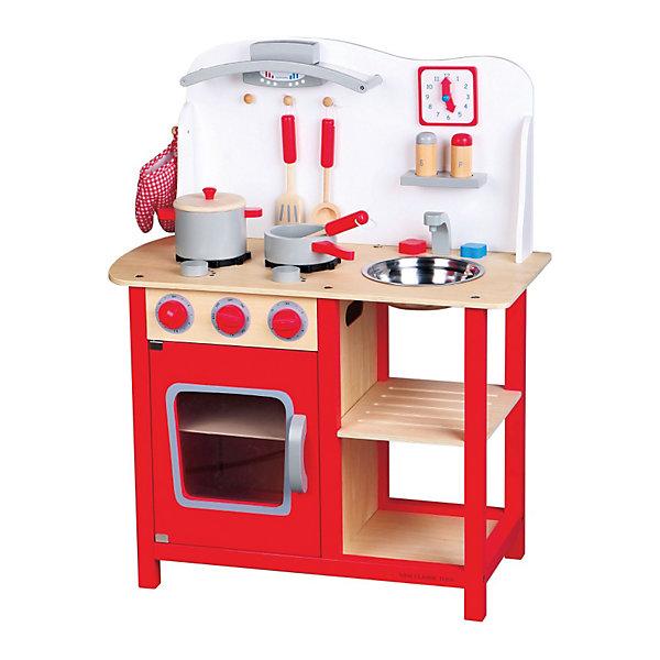 Купить Кухня New Classic Toys, 78 см, красная, Китай, Унисекс