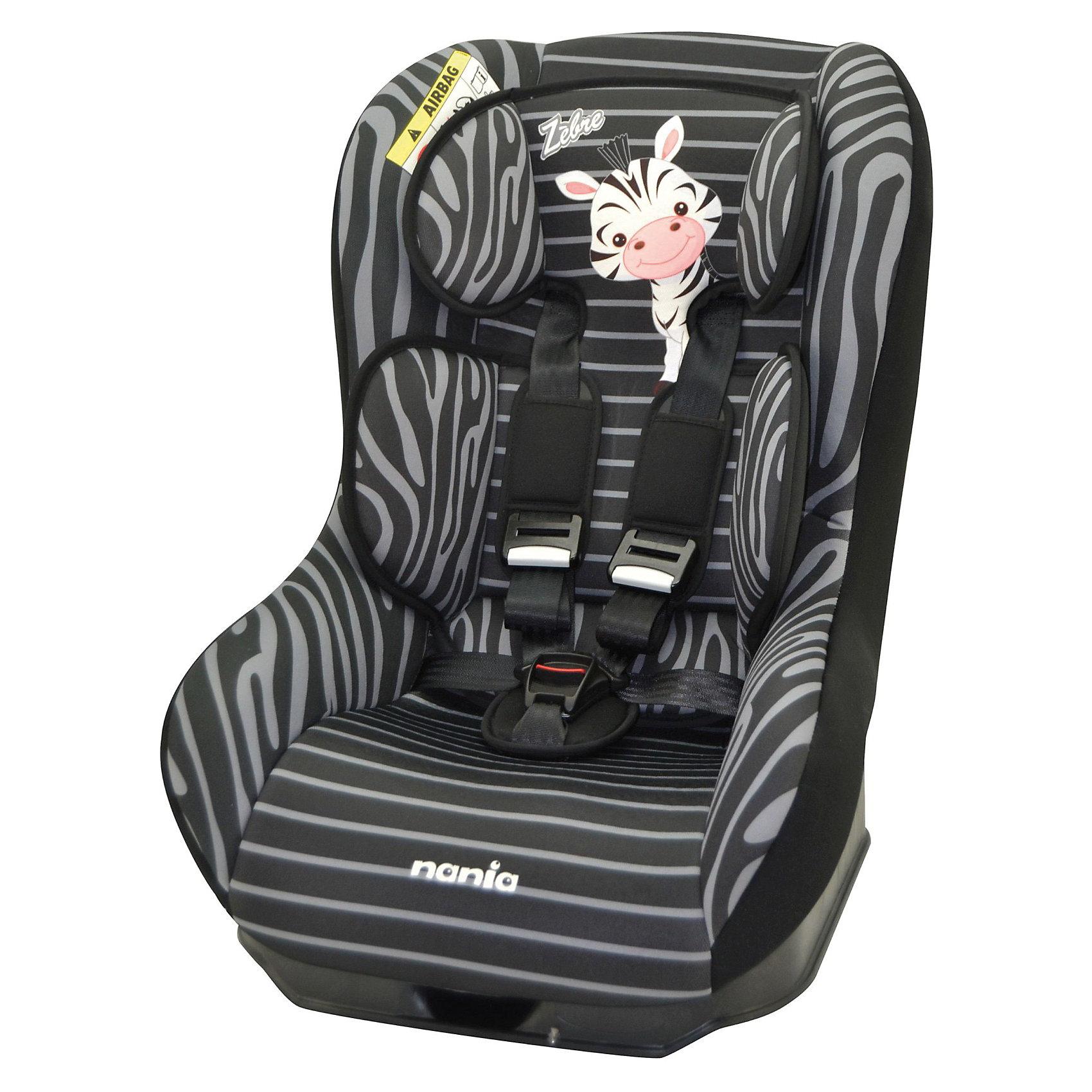 Автокресло Nania Driver , 0-18 кг, (zebra)