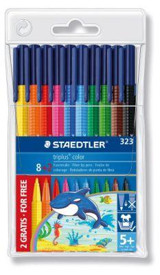 Фломастеры Staedtler Triplus Сolor, 8 цв., артикул:3608617 - Письменные принадлежности