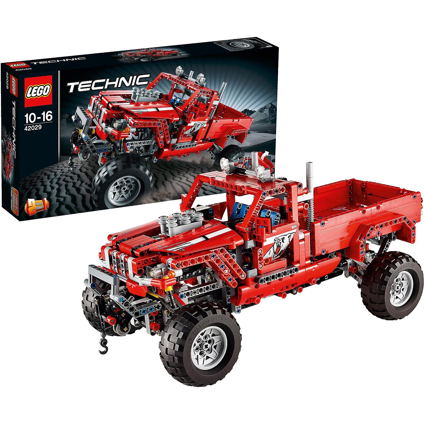 LEGO Technic 42029: Тюнингованный пикап