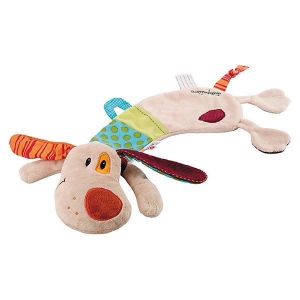 Lilliputiens Игрушка-обнимашка Собачка Джеф; подарочная коробка Lilliputiens lilliputiens курочка офелия музыкальная игрушка