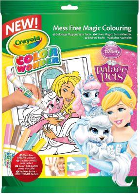 Раскраска с фломастерами Color Wonder, Принцессы Дисней, артикул:3638599 - Принцессы Дисней