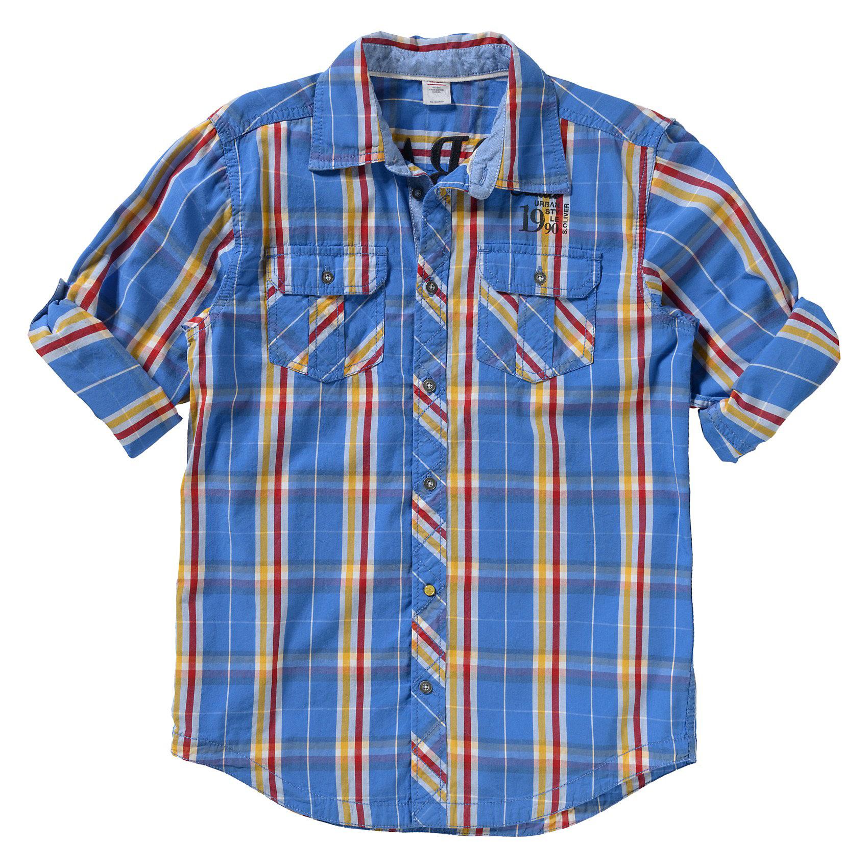 Рубашка для мальчика s.Oliver