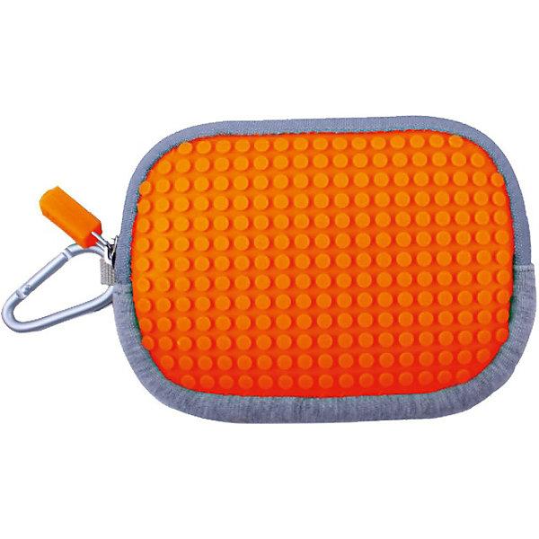 Upixel Маленькая пиксельная сумочка Pixel Cotton Pouch WY-B006, светло-оранжевый маленькая сумочка 100