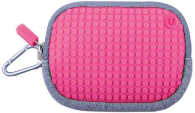 Маленькая пиксельная сумочка Pixel Cotton Pouch WY-B006, светло-розовый, артикул:3647090 - Сумки