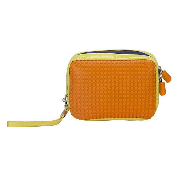 Купить Ручная сумка Клатч Canvas Handbag WY-B003, желтый-оранжевый, Китай, Женский