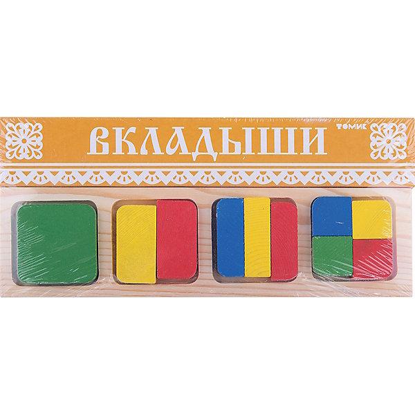 Томик Рамка-вкладыш Геометрия Квадрат,