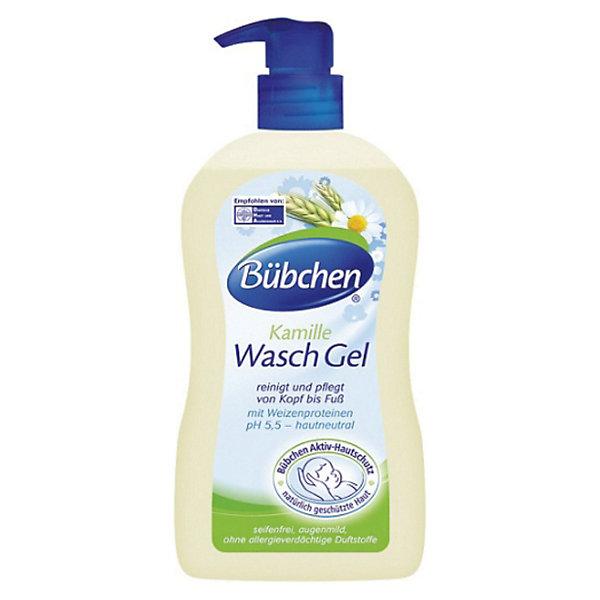 Bubchen Гель для купания младенцев, Bubchen, 400 мл. шампунь bubchen средство для купания младенцев 400 мл 2 в 1