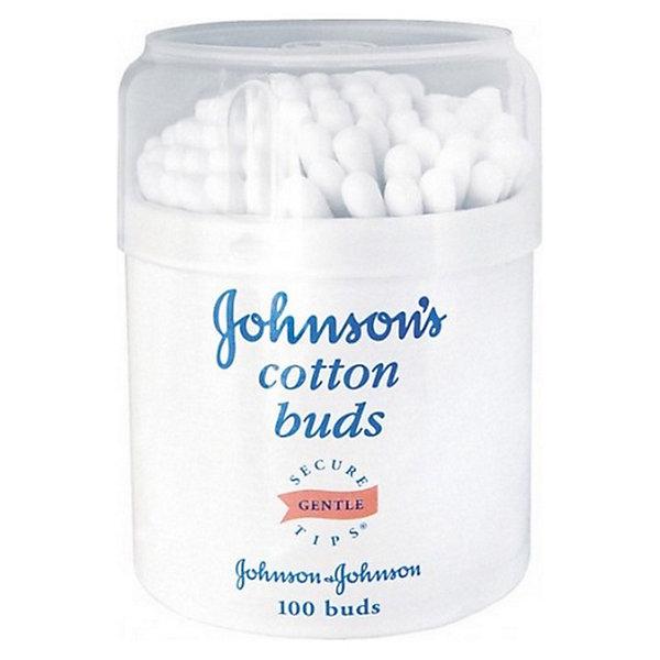 Johnson`s baby Ватные палочки 100 шт, baby, шт