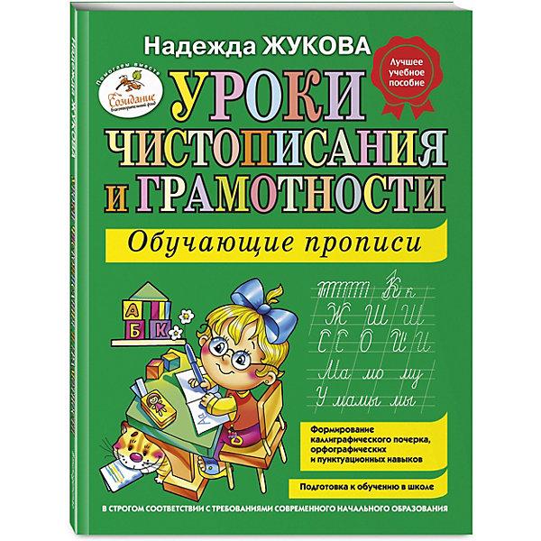 Фото - Эксмо Уроки чистописания и грамотности: обучающие прописи, Н.С.Жукова обучающие программы