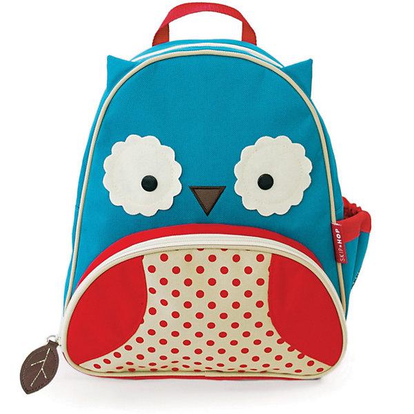 Рюкзак детский Сова, Skip HopДетские рюкзаки<br>Характеристики товара:<br><br>• возраст от 3 лет;<br>• материал: полиэстер;<br>• размер рюкзака 25х29х11 см;<br>• вес рюкзака 270 гр.;<br>• страна производитель: Китай.<br><br>Рюкзак детский «Сова» Skip Hop выполнен в виде совенка с большими глазками и ушками. На молниях висят брелки в виде листиков. Ребенок сможет брать с собой все необходимое на прогулку, в детский садик, в гости, на дачу. В основном отделении поместятся тетради, альбомы, блокноты, карандаши, фломастеры. Спереди кармашек для дополнительных мелочей, а сбоку для бутылочки с напитком или бокса для еды. <br><br>Мягкие регулируемые лямки обеспечивают комфортное ношение. Предусмотрена небольшая ручка для переноски в руках или подвешивания. Рюкзак выполнен из прочной качественной ткани и стирается в стиральной машине.<br><br>Рюкзак детский «Сова» Skip Hop можно приобрести в нашем интернет-магазине.<br>Ширина мм: 330; Глубина мм: 286; Высота мм: 81; Вес г: 313; Цвет: синий; Возраст от месяцев: 24; Возраст до месяцев: 60; Пол: Унисекс; Возраст: Детский; SKU: 3688429;