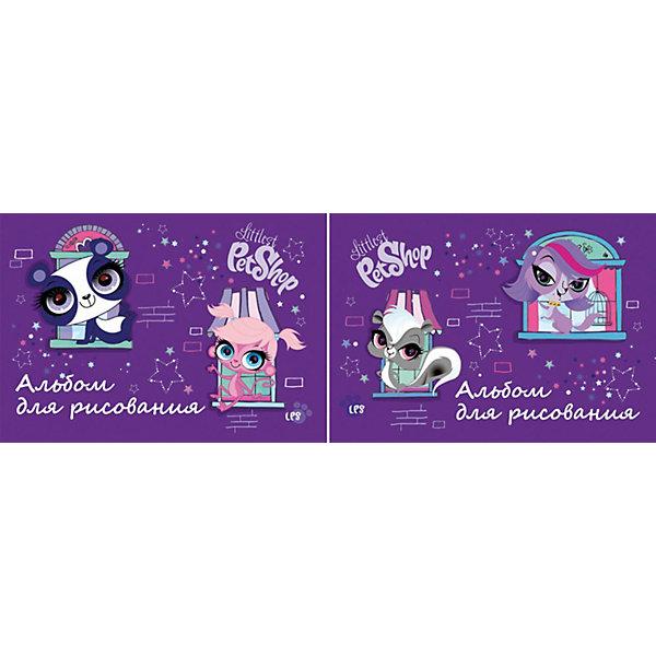 Альбом для рисования, 20 листов, Littlest Pet ShopАльбомы и бумага для рисования<br>Альбом для рисования, 20 листов, Littlest Pet Shop (Литлест Пет Шоп) - прекрасный подарок для раскрытия творческого потенциала. Рисование - это прекрасный досуг, который способствует развитию воображения,  восприятия,  мышления, логики,  мелкой моторики,  усидчивости и понимания формы и цветов.<br><br><br>Дополнительная информация:<br><br>- Количество листов: 20<br>- Вес: 179 г.<br>- Серия: Littlest Pet Shop (Литлест Пет Шоп)<br>- Размеры: 290 х 205 х 4,44 мм<br><br>Альбом для рисования, 20 листов, Littlest Pet Shop (Литлест Пет Шоп) можно купить в нашем магазине.<br>Ширина мм: 4; Глубина мм: 290; Высота мм: 205; Вес г: 179; Возраст от месяцев: 48; Возраст до месяцев: 84; Пол: Женский; Возраст: Детский; SKU: 3702868;