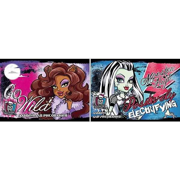 Альбом для рисования, 40 листов, Monster HighАльбомы и бумага для рисования<br>Альбом для рисования, 40 листов, Monster High (Монстер Хай) - прекрасный подарок для раскрытия творческого потенциала. Рисование - это прекрасный досуг, который способствует развитию воображения,  восприятия,  мышления, логики,  мелкой моторики,  усидчивости и понимания формы и цветов.<br><br><br>Дополнительная информация:<br><br>- Количество листов: 40<br>- Вес: 321 г.<br>- Серия: Monster High (Школа Монстров)<br>- Размеры: 205 х 290 х 8 мм<br><br>Альбом для рисования, 40 листов, Monster High (Монстр Хай) можно купить в нашем магазине.<br>Ширина мм: 205; Глубина мм: 290; Высота мм: 8; Вес г: 321; Возраст от месяцев: 120; Возраст до месяцев: 144; Пол: Женский; Возраст: Детский; SKU: 3702872;