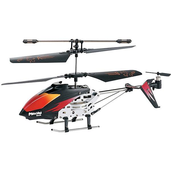 Вертолет Mercury, на и/к управлении, Mioshi TechСамолёты и вертолёты<br>Радиоуправляемый вертолёт Mioshi Tech Mercury понравится не только детям, но и взрослым. Встроенный гироскоп сделает ваш полёт увереннее и управление проще, а яркая подсветка корпуса обеспечит зрелищное шоу! Выполняйте разнообразные трюки и покоряйте новые высоты, позовите друзей и поразите их своим мастерским полётом! В комплекте идёт запасной хвостовой винт и отвёртка, так что небольшая поломка не выведет вас из строя.<br> <br>Дополнительная информация:<br><br>- В комплекте: собранный, полностью готовый к полету вертолет, инфракрасный пульт ДУ, запасной хвостовой винт, инструкция, отвертка<br>- LED (светодиодная) подсветка корпуса<br>- 3,5 канала<br>- Направления полета: вперед, назад, взлет, посадка, повороты направо/налево/вращение против часовой стрелки<br>- Гироскоп<br>- Питание устройства: аккумулятор с зарядкой от пульта ДУ<br>- Питание пульта ДУ: 6 батареек типа AA (приобретаются отдельно)<br>- Радиус действия: до 10 м.<br>- Время работы от аккумулятора: 5 - 6 мин.<br>- Время зарядки: 60 минут<br>- Максимальная скорость: 10 км/ч.<br>- Размеры вертолета: 37 x 105 x 230 мм.<br>- Диаметр несущего винта: 175 мм.<br>- Размеры упаковки: 460 х 80 х 160 мм.<br>- Вес: 517 г.<br>- Материал: высококачественный пластик, металл<br><br>Вертолет Mercury, на и/к управлении, Mioshi Tech  можно купить в нашем магазине.<br>Ширина мм: 460; Глубина мм: 80; Высота мм: 160; Вес г: 517; Возраст от месяцев: 72; Возраст до месяцев: 1188; Пол: Мужской; Возраст: Детский; SKU: 3703440;
