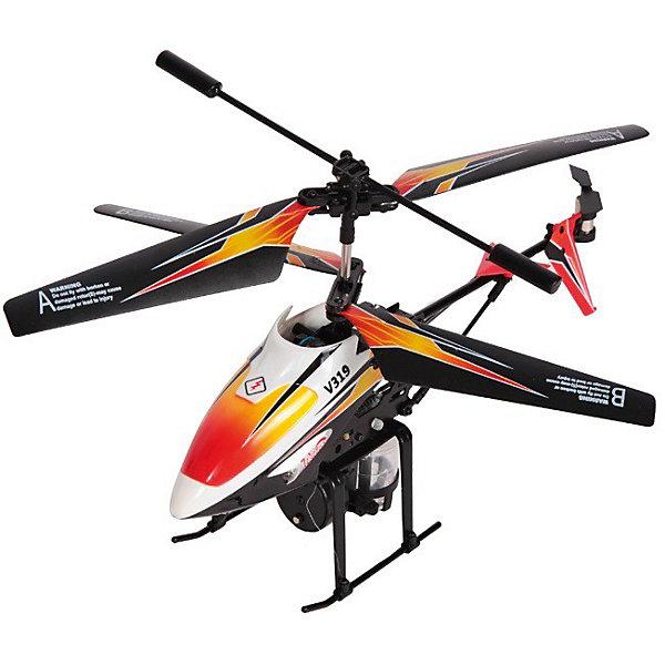 Вертолет с водометом Splash, на и/к управлении, Mioshi TechСамолёты и вертолёты<br>Почувствуйте себя пилотом настоящего современного вертолёта, который может совершать воздушные атаки водой! Он снабжен гироскопом, который обеспечивает ему уверенный полёт. Похвастайтесь перед друзьями своим умением виртуозно управлять вертолётом. В этом вам поможет функция автопилот. При нажатии кнопки Demo игрушка начнёт выполнять запрограммированный ряд действий. И даже если вы новичок в полетах и первый раз держите в руках пульт управления, то об этом никто не догадается! Противоударный корпус защитит вертолёт от падений и столкновений с твёрдыми поверхностями. Посмотрите, как далеко сможет он улететь!<br><br>Дополнительная информация:<br><br>- Комплект поставки: собранный, полностью готовый к полету вертолет, пульт ДУ, две запасные лопасти, два хвостовых винта, инструкция, USB-кабель, флакон для заправки водомета<br>- 3,5 канала<br>- LED (светодиодная) подсветка корпуса<br>- Гироскоп<br>- Автопилот<br>- Время работы от аккумулятора: 5 - 6 мин.<br>- Радиус действия: до 10 - 15 м.<br>- Время зарядки: 60 минут<br>- Длина вертолета: 220 мм.<br>- Диаметр несущего винта: 175 мм.<br>- Размеры упаковки: 335 х 285 х 90 мм<br>- Вес: 611 г.<br>- Питание устройства: аккумулятор с зарядкой от пульта ДУ или USB-порта компьютера<br>- Питание пульта ДУ: 6 батареек типа AA (приобретаются отдельно)<br>- Материал: высококачественный пластик, металл<br><br>Вертолет с водометом Splash, на и/к управлении, Mioshi Tech  можно купить в нашем магазине.<br>Ширина мм: 335; Глубина мм: 285; Высота мм: 90; Вес г: 611; Возраст от месяцев: 72; Возраст до месяцев: 1188; Пол: Мужской; Возраст: Детский; SKU: 3703441;