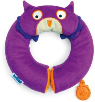 Фиолетовый подголовник Сова, Yondi, артикул:3711110 - Автокресла