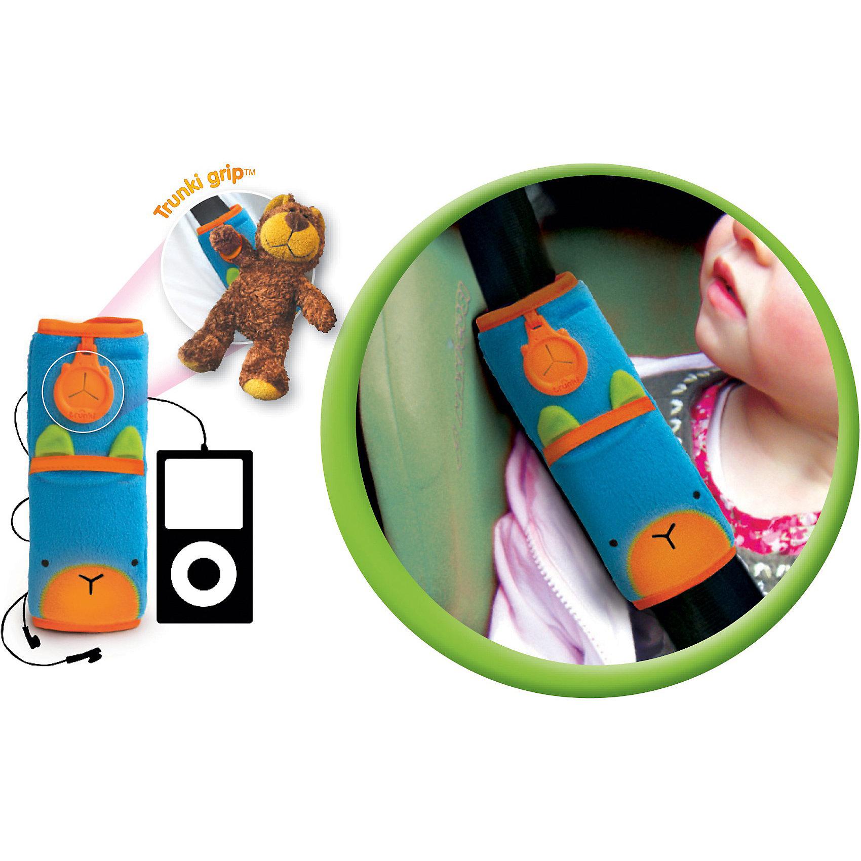 TRUNKI Голубая накладка-чехол для ремня безопасности в авто