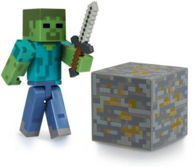 Фигурка Зомби, 8см, Minecraft, артикул:3712317 - Категории