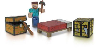 Фигурка с набором для выживания, 8 см, Minecraft, артикул:3712318 - Категории