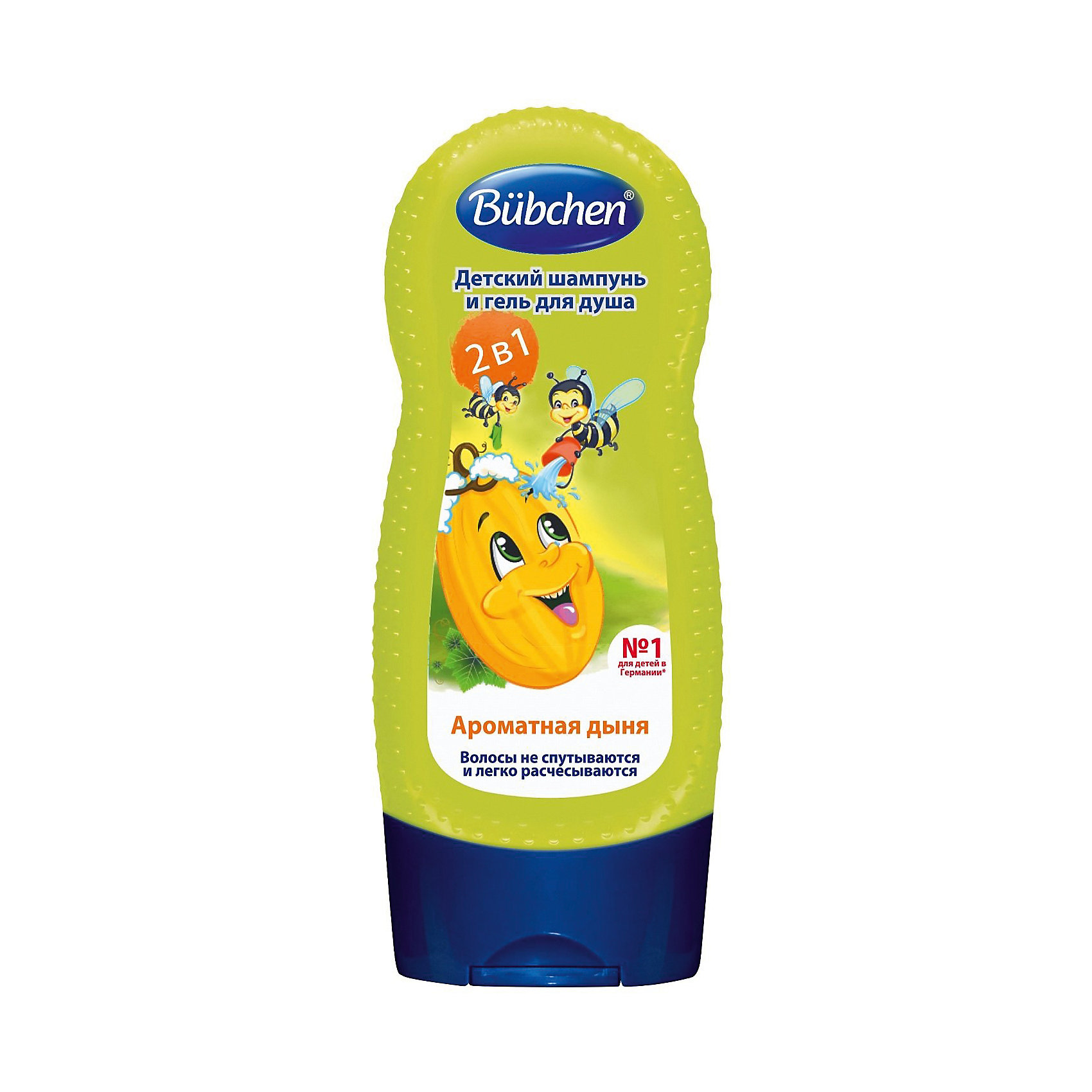 Шампунь для мытья волос и тела Дыня, Bubchen, 230 мл.