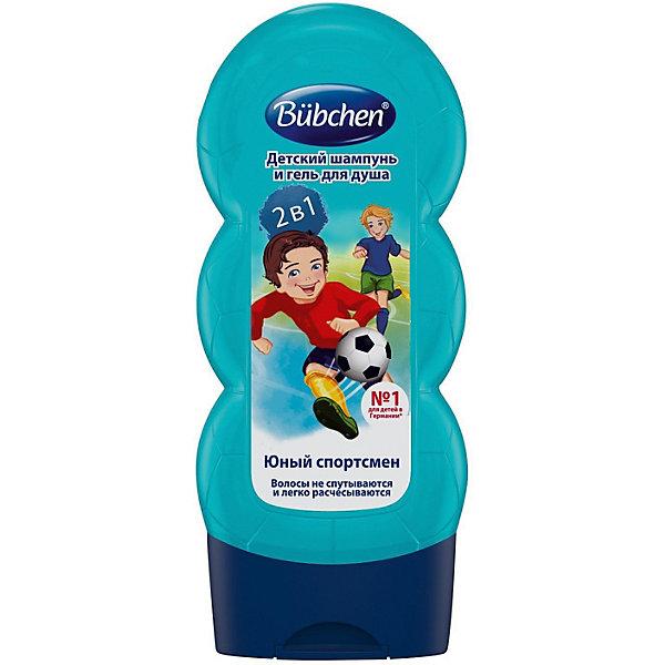 Bubchen Шампунь для волос и тела Юный спортсмен 230 мл.