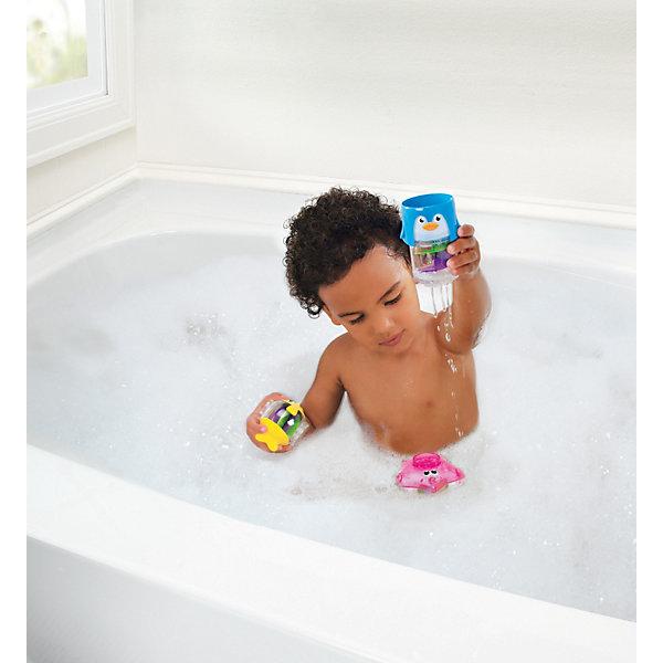 munchkin Игрушки для ванной Пирамидка 3 в1 от 6мес., Munchkin аксессуары для ванн munchkin органайзер для игрушек в ванной