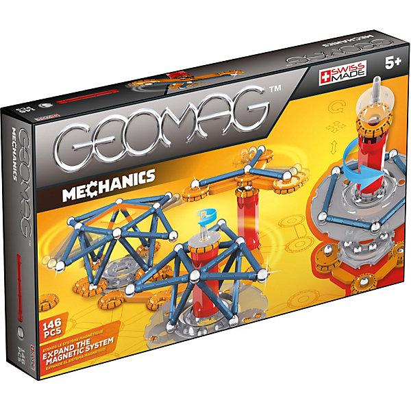 Магнитный конструктор Geomag Mechanics,  146 деталейМагнитные конструкторы<br>Характеристики:<br><br>• возраст: от 5 лет;<br>• материал: пластик, металл, магниты;<br>• комплектация: 146 дет.;<br>• размер: 22х5х38 см;<br>• вес: 1,22 кг;<br>• страна бренда: Швейцария;<br>• бренд: Geomag.<br><br><br>Магнитный конструктор Geomag  «Mechanics» состоит из шариков и палочек. Благодаря декоративным элементам на панелях, блоки предлагают еще больше творческих возможностей. <br><br>С помощью различных конструкций вы можете создавать разные структуры из научно-фантастических фильмов - только ваше воображение ограничивает вас. Конструктор развивает воображение и пространственное мышление.<br><br>Магнитный конструктор Geomag  «Mechanics» можно купить в нашем интернет-магазине.<br>Ширина мм: 382; Глубина мм: 220; Высота мм: 58; Вес г: 1123; Возраст от месяцев: 60; Возраст до месяцев: 96; Пол: Унисекс; Возраст: Детский; SKU: 3735349;