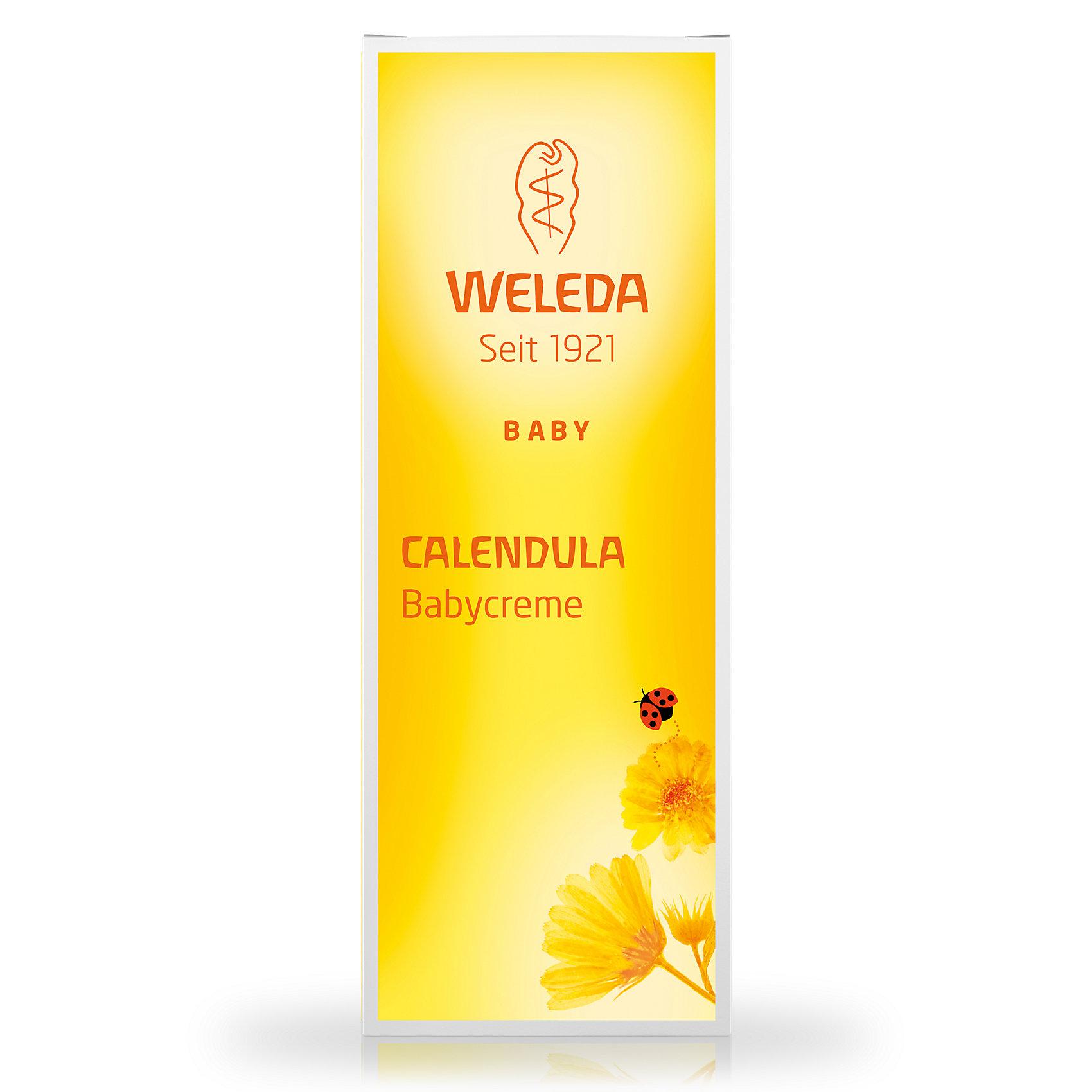 Крем для младенцев с календулой для защиты кожи в области пеленания, 75 мл., Weleda (-)