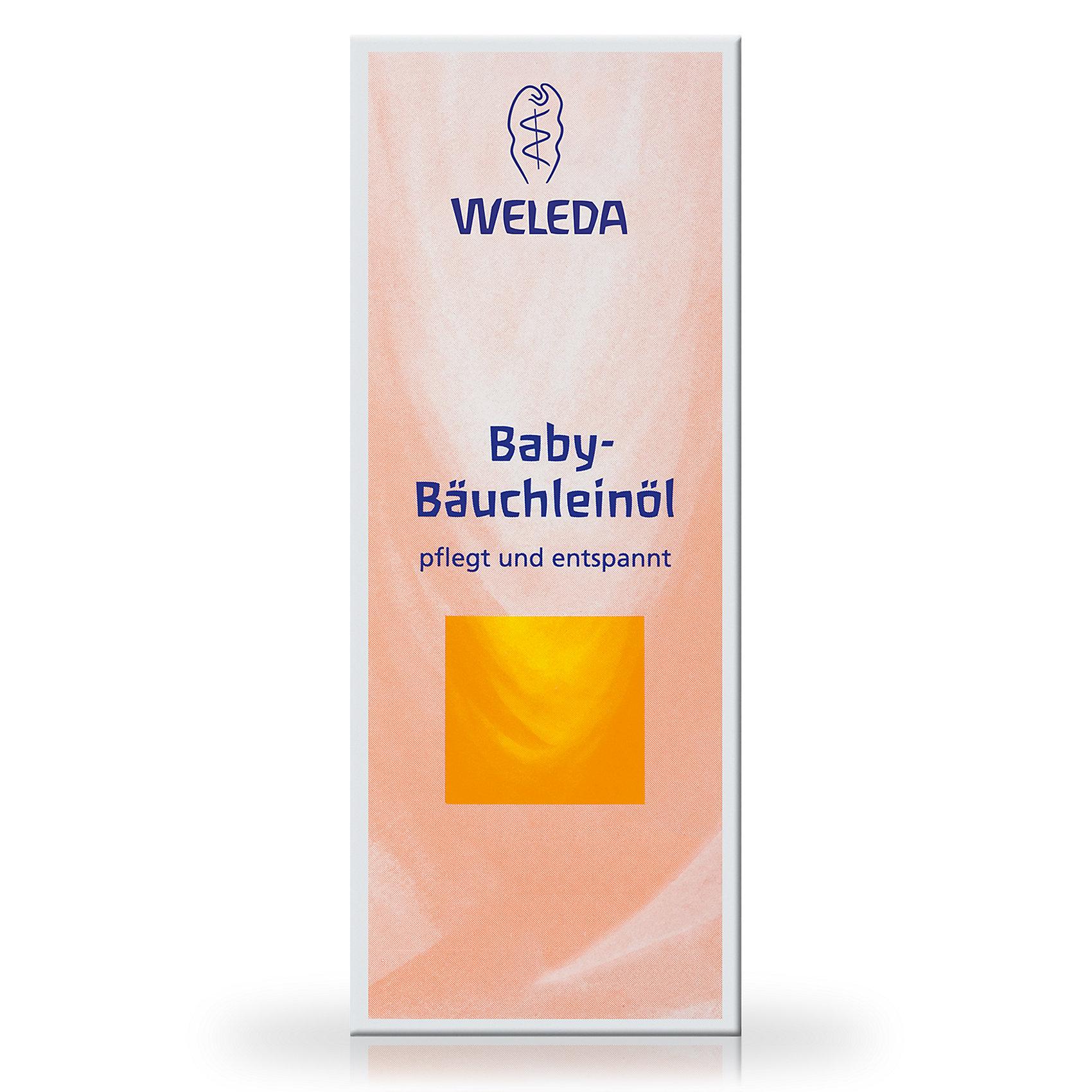 Масло для массажа животиков младенцев, 50 мл., Weleda (-)