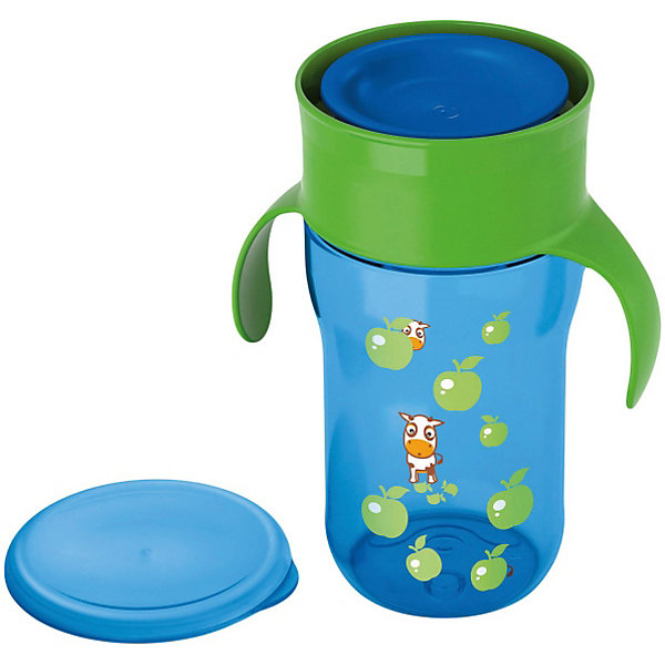 Фото - PHILIPS AVENT Чашка-поильник, Philips Avent, 340мл., [супермаркет] jingdong геб scybe фил приблизительно круглая чашка установлена в вертикальном положении стеклянной чашки 290мла 6 z
