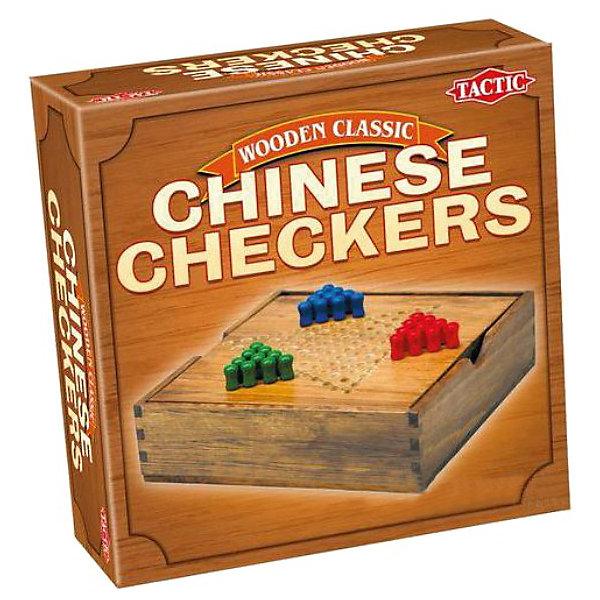 Китайские шашки, мини, Tactic GamesИгры в дорогу<br>Китайские шашки, мини, Tactic Games – это интересная настольная игра для компании людей, любящих задания на логику.<br>Настольная игра Китайские шашки (мини) от компании Tactic Games - это прекрасная игра для компании. Каждый игрок выбирает себе цвет колышков и выстраивает их в виде треугольника на игровом поле. Ваша цель: переместить свои колышки в противоположный от вашего треугольник. С настольной игрой Китайские шашки (мини) вы сможете отлично развить свою логику, а также стратегические навыки.<br><br>Дополнительная информация:<br><br>- Игра подходит для взрослых и детей от 8 лет<br>- Количество игроков: от 2 до 6 человек<br>- В комплекте: игровое поле и 30 (3 цвета) деревянных колышков<br>- Размер упаковки: 16,8 х 16,8 х 6,2 см.<br>- Вес: 374 гр.<br><br>Китайские шашки, мини, Tactic Games можно купить в нашем интернет-магазине.<br>Ширина мм: 62; Глубина мм: 168; Высота мм: 168; Вес г: 374; Возраст от месяцев: 96; Возраст до месяцев: 1188; Пол: Унисекс; Возраст: Детский; SKU: 3770922;