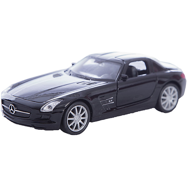 Welly Модель машины 1:34-39 Mercedes-Benz SLS AMG, Welly 2x car led door welcome light courtesy logo laser projector light ghost shadow lamp for mercedes benz w210 amg 1995 2003