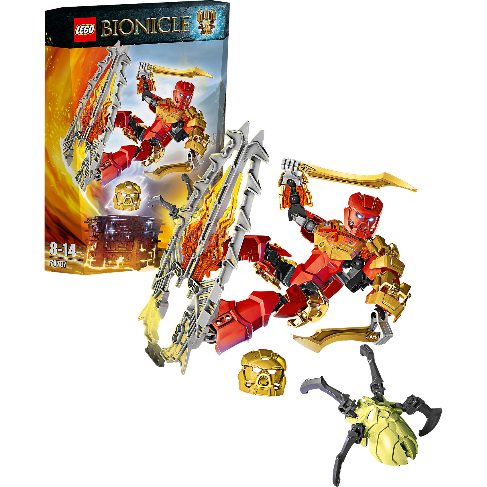 LEGO Bionicle 70787: Таху – Повелитель Огня