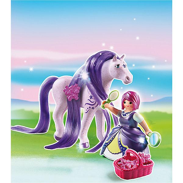 PLAYMOBIL® Принцессы: Принцесса Виола с Лошадкой, PLAYMOBIL playmobil® пиратский тайник с сокровищами playmobil