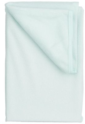 Наматрасник на резинке махровый, 60х120 см, Baby Nice, голубой, артикул:3788229 - Детский текстиль