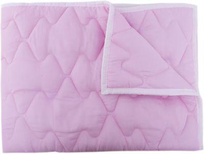 Стеганное одеяло Baby Nice, 105х140, розовый, артикул:3788249 - Детский текстиль