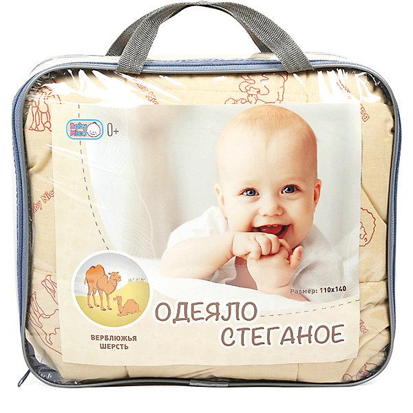 Одеяло стеганное, верблюжья шерсть 105х140 см, Baby NiceОдеяла в кроватку новорождённого<br>Дополнительная информация:<br><br>Наполнитель: верблюжья  шерсть. <br>Размер 110х140 см<br>Вес в упаковке: 900 г.<br>Размер упаковки: 500 х 500 х 80 мм.<br><br>Одеяло стеганное, верблюжья шерсть можно купить в нашем магазине.<br>Ширина мм: 500; Глубина мм: 500; Высота мм: 80; Вес г: 900; Возраст от месяцев: 0; Возраст до месяцев: 36; Пол: Унисекс; Возраст: Детский; SKU: 3788250;