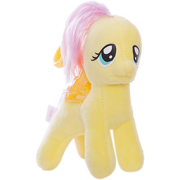Ty Пони Fluttershy на брелке, 15 см, My little Pony, Ty ty my little pony пони apple jack 20 см