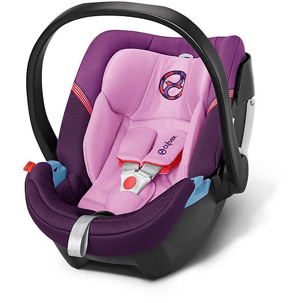Автокресло Cybex Aton 4, 0-13 кг, Grape JuiceГруппа 0+  (до 13 кг)<br>Удобное надежное автокресло позволит перевозить ребенка, не беспокоясь при этом о его безопасности. Оно предназначено для самых маленьких. Такое кресло обеспечит малышу не только безопасность, но и комфорт (идеальный угол наклона, регулируемый по высоте подголовник, автоматическая регуляция ремней безопасности).<br>Автокресло устанавливают против движения. Такое кресло дает возможность свободно путешествовать, ездить в гости и при этом  быть рядом с малышом. Конструкция - очень удобная и прочная. Изделие произведено из качественных и безопасных для малышей материалов, оно соответствуют всем современным требованиям безопасности. Оно отлично показало себя на краш-тестах.<br> <br>Дополнительная информация:<br><br>цвет: фиолетовый;<br>материал: текстиль, пластик;<br>возраст: 0 - 12 месяцев;<br>вес  ребенка: не более 13 кг;<br>регулируемый по высоте подголовник с интегрированными направляющими;<br>огромный козырек от солнца размера XXL;<br>идеальный угол наклона;<br>можно использовать со штатными ремнями или с дополнительной базой;<br>8-позиционный регулируемый по высоте подголовник со встроенным направляющими для ремней;<br>с помощью адаптера может крепиться к коляскам;<br>установка против движения;<br>телескопическая система линейной защиты от боковых ударов (L.S.P. System);<br>соответствие Европейскому стандарту безопасности ЕСЕ R44/04.<br><br>Автокресло Aton 4, 0-13 кг., Grape Juice, от компании Cybex можно купить в нашем магазине.<br>Ширина мм: 695; Глубина мм: 445; Высота мм: 345; Вес г: 6150; Цвет: лиловый; Возраст от месяцев: 0; Возраст до месяцев: 12; Пол: Унисекс; Возраст: Детский; SKU: 3789528;