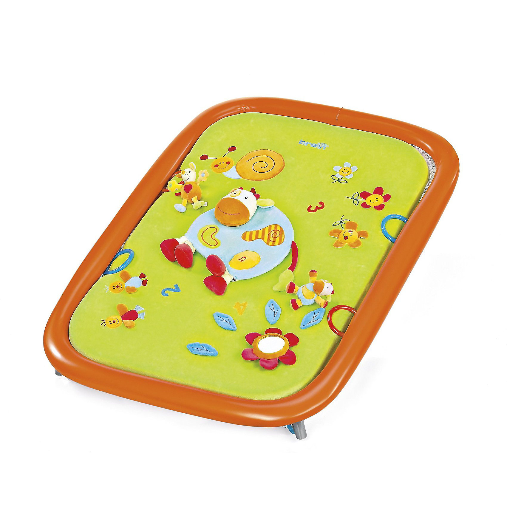 Манеж игровой Soft Play Green Farm, Brevi,  мульти (brevi)