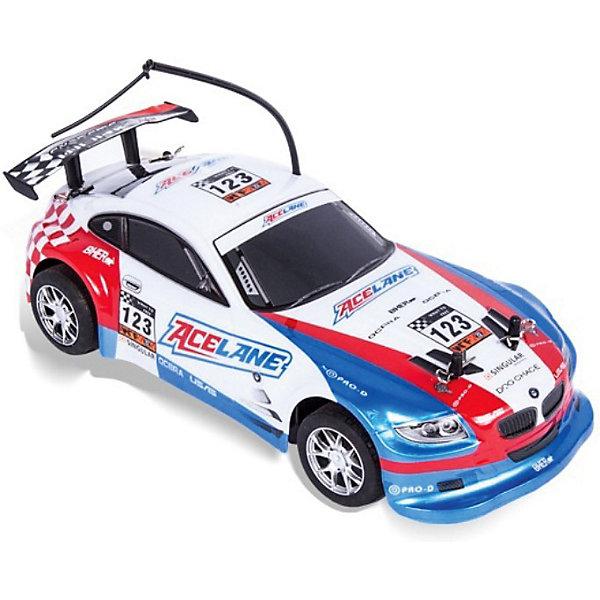 Mioshi Автомобиль On-road rally racer, на р/у, белый, Mioshi Tech mioshi автомобиль on road rally racer на р у красный mioshi tech