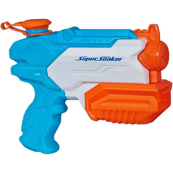 Водяной бластер Супер Соакер Микробёрст 2, NERFИгрушечное оружие<br>Super Soaker Микробёрст 2, NERF- это водяной пистолет для настоящих бойцов с излишней жарой и духотой - достаточно набрать воды в объемный резервуар (295 мл) и передернуть помпу. Подобное занятие придется по душе и малышам, и взрослым, ведь это действительно здорово! Бластер станет отличным решением для активного и позитивного времяпрепровождения, не даст заскучать и даже позволит развить такие положительные навыки, как сноровка, координация, ловкость и внимательность. <br><br>Дополнительная информация:<br><br>Объем резервуара: 295 мл<br>Дальность стрельбы: 10 м<br>Размер упаковки: 21,6 х 22 х 6 см<br>Материал: пластик<br><br>Водяной бластер Супер Соакер Микробёрст 2, NERF (Нерф) можно купить в нашем магазине.<br>Ширина мм: 221; Глубина мм: 215; Высота мм: 63; Вес г: 290; Возраст от месяцев: 72; Возраст до месяцев: 120; Пол: Мужской; Возраст: Детский; SKU: 3795562;