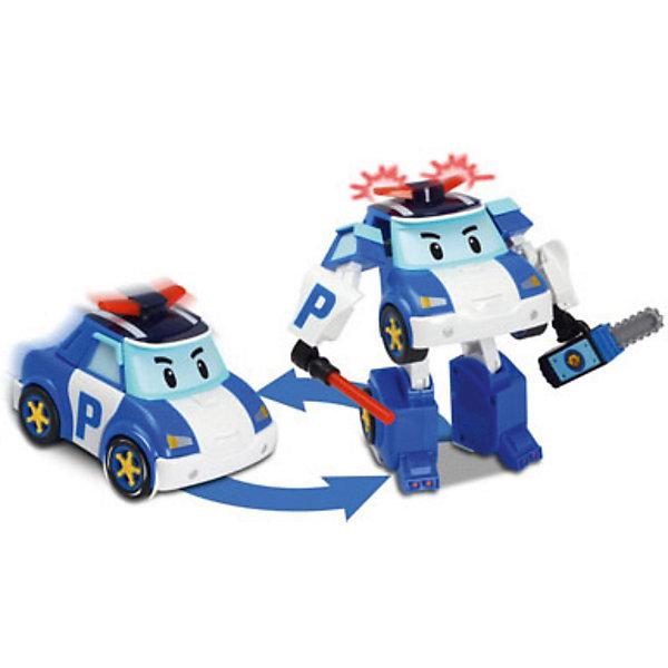 Silverlit Игрушка Поли трансформер 12,5 см, Робокар Поли дружная команда робокар поли и его друзья